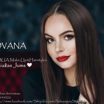 """""""Silvija MUA Make Up & Hairstyles""""  - MAKIAŽAI ir ŠUKUOSENOS / Silvija / Darbų pavyzdys ID 529371"""