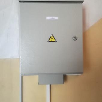 Elektros įvado galios didinimas-projektavimas, montavimas