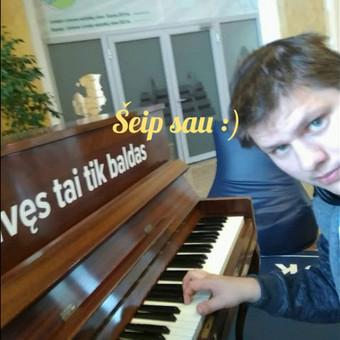 Dainuoju renginiuose vestuvėse ir panašiai :) / Gediminas Zaranka / Darbų pavyzdys ID 531227