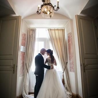 Vestuvių fotosesija.