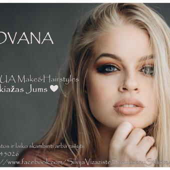 """""""Silvija MUA Make Up & Hairstyles""""  - MAKIAŽAI ir ŠUKUOSENOS / Silvija / Darbų pavyzdys ID 534441"""