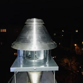 Montuojame TURBOCAMINO - didelio slėgio išcentriniai stoginiai ventiliatoriai skirti tiesioginiam karšto ir dulkėto oro, automobilinių dujų ar garų išpūtimui iš mažų ir vidutinių patalp ...