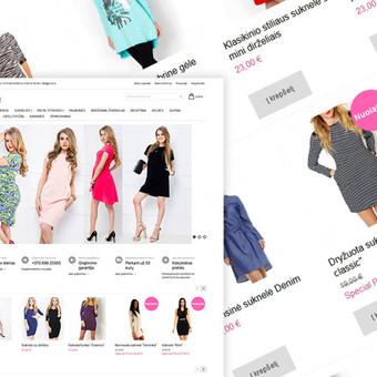 reklamos agentūra | Efektyvios interneto svetainės / Laisvalaikio Renginiai MB / Darbų pavyzdys ID 534775