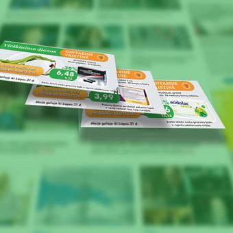 Gintarinė vaistinė reklaminiai baneriai