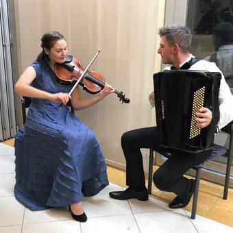 """Muzikinis duetas """"Tutto a Dio"""" / Muzikinis ansamblis """"Tutto a Dio"""" / Darbų pavyzdys ID 535659"""