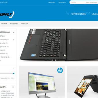Kompiuterinės įrangos internetinė parduotuvė