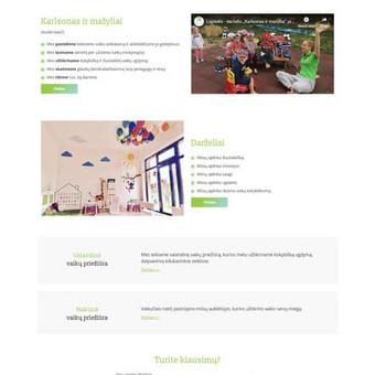 Interneto svetainių, elektroninių parduotuvių kūrimas / Kristina / Darbų pavyzdys ID 537013