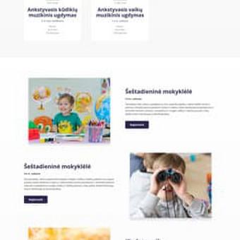 Interneto svetainių, elektroninių parduotuvių kūrimas / Kristina / Darbų pavyzdys ID 537029