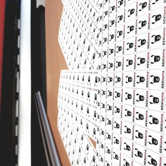 Reklamos gamybos ir dizaino studija / UAB Lamos reklama / Darbų pavyzdys ID 537567