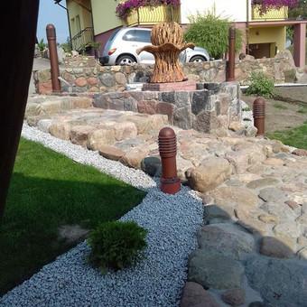 Akmens mūro darbai, Šlaitų ir pakrančių tvirtinimas,Gabion / Saulius / Darbų pavyzdys ID 538023