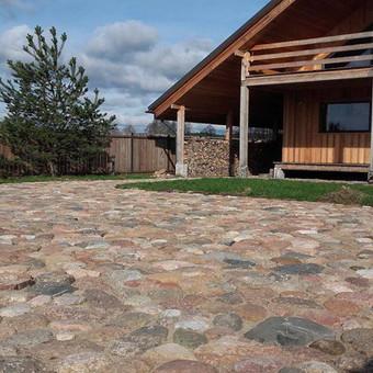 Akmens mūro darbai, Šlaitų ir pakrančių tvirtinimas.Atramine / Saulius / Darbų pavyzdys ID 538037