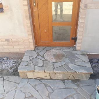 Akmens mūro darbai, Šlaitų ir pakrančių tvirtinimas.Atramine / Saulius / Darbų pavyzdys ID 538055