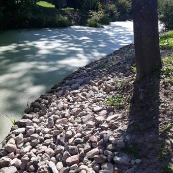 Akmens mūro darbai, Šlaitų ir pakrančių tvirtinimas,Gabion / Saulius / Darbų pavyzdys ID 538073