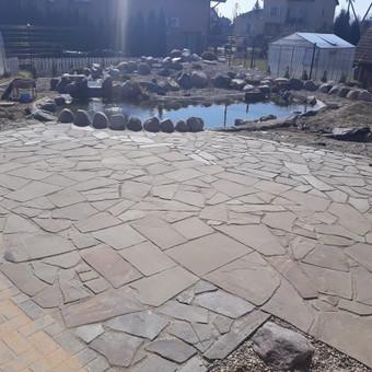 Akmens mūro darbai, Šlaitų ir pakrančių tvirtinimas.Atramine / Saulius / Darbų pavyzdys ID 538095