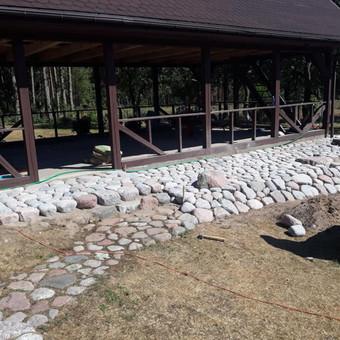 Akmens mūro darbai, Šlaitų ir pakrančių tvirtinimas.Atramine / Saulius / Darbų pavyzdys ID 538097