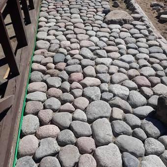Akmens mūro darbai, Šlaitų ir pakrančių tvirtinimas.Atramine / Saulius / Darbų pavyzdys ID 538099