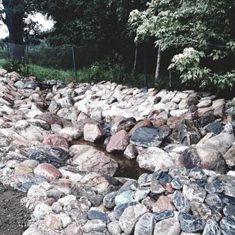 Akmens mūro darbai, Šlaitų ir pakrančių tvirtinimas,Gabion / Saulius / Darbų pavyzdys ID 538107