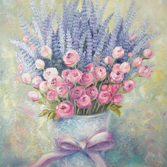 Provanso gėlės 40x60