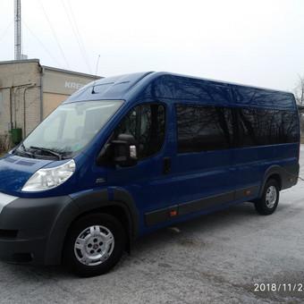 Keleivių pervežimai / Galiu Pavežėt / Darbų pavyzdys ID 538509