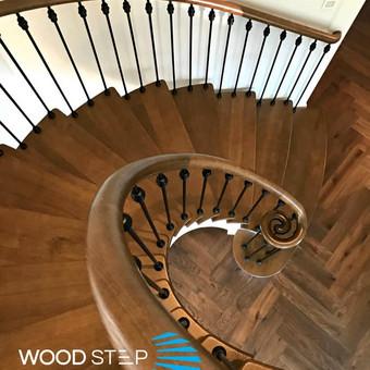 Laiptų gamyba ir projektavimas / UAB Wood Step / Darbų pavyzdys ID 539143