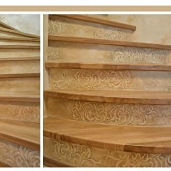 Meninis sienų dekoravimas, dekoratyvinis tinkas / Laura Sakalauskienė / Darbų pavyzdys ID 539675