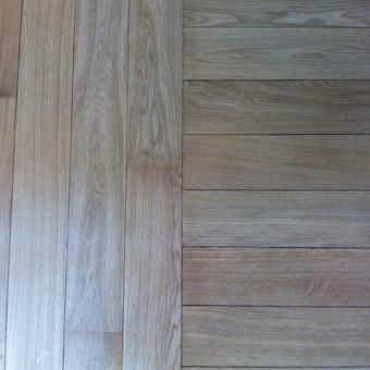 Darbai su medinėmis grindimis: klojimas, šlifavimas... / Rolandas / Darbų pavyzdys ID 539883