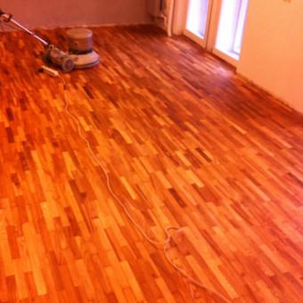 Darbai su medinėmis grindimis: klojimas, šlifavimas... / Rolandas / Darbų pavyzdys ID 539893
