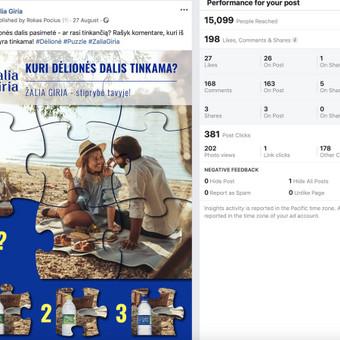 Socialinių tinklų marketingo specialistas / Rokas Pocius / Darbų pavyzdys ID 540763