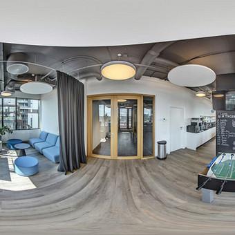 Ifinsurance biuras Vilniuje Narbuto g. 5. Sukurtas nestandartinis virtualus turas, paviešinta Google žemėlapiuose. Nufotografuotas ir biuras Taline.