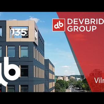 Devbridge biuro VIlniuje video iš oro.