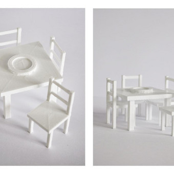Maketų spausdinimas PLA