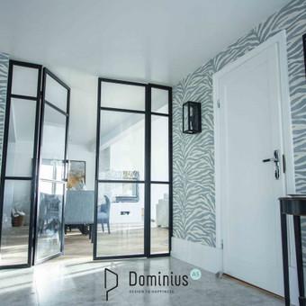 Stiklo-metalo pertvarų ir durų gamyba / Dominius / Darbų pavyzdys ID 541905