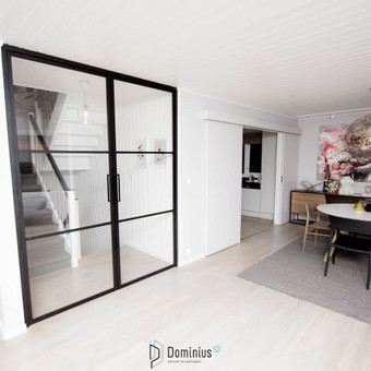 Stiklo-metalo pertvarų ir durų gamyba / Dominius / Darbų pavyzdys ID 541911