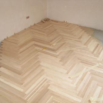 Medinių grindų įrengimas / Arnas / Darbų pavyzdys ID 75921
