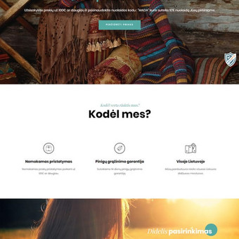 #1 Interneto svetainių, bei parduotuvių kūrimas,  SEO / Jonas Urbonas / Darbų pavyzdys ID 542755