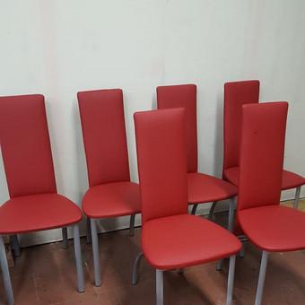 Minkštųjų baldų, kėdžių, minkštasuolių pervilkimas, remontas / Vytautas / Darbų pavyzdys ID 545039