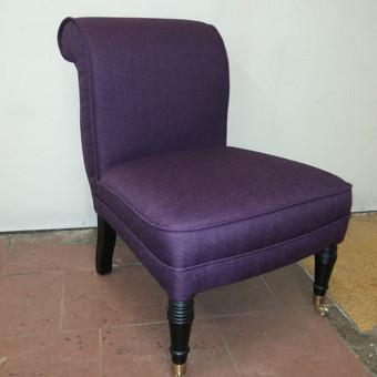 Minkštųjų baldų, kėdžių, minkštasuolių pervilkimas, remontas / Vytautas / Darbų pavyzdys ID 545041