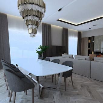 Interjero projektavimas / Flamingo interjero namai / Darbų pavyzdys ID 545459