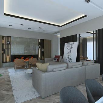 Interjero projektavimas / Flamingo interjero namai / Darbų pavyzdys ID 545463