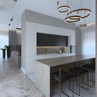Interjero projektavimas / Flamingo interjero namai / Darbų pavyzdys ID 545479