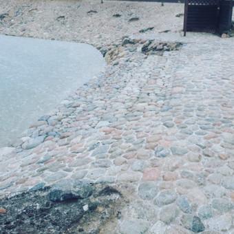 Akmens mūro darbai, Šlaitų ir pakrančių tvirtinimas.Atramine / Saulius / Darbų pavyzdys ID 545617