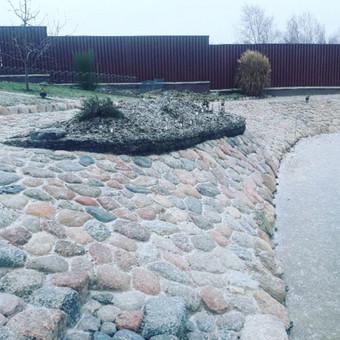 Akmens mūro darbai, Šlaitų ir pakrančių tvirtinimas,Gabion / Saulius / Darbų pavyzdys ID 545621