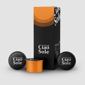 CiaoSole - aukščiausios rūšies kava iš Italijos       Logotipų kūrimas - www.glogo.eu - logo creation.