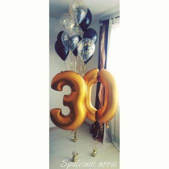 Pigiausi helio balionai Šiauliuose / Stilingi balionai / Darbų pavyzdys ID 546203