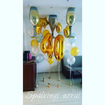 Pigiausi helio balionai Šiauliuose / Stilingi balionai / Darbų pavyzdys ID 546205