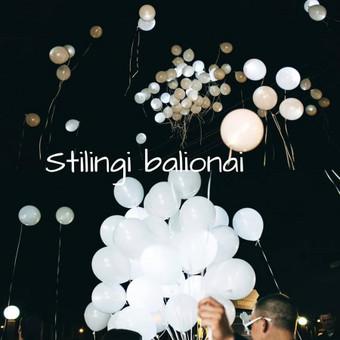 Pigiausi helio balionai Šiauliuose / Stilingi balionai / Darbų pavyzdys ID 546227