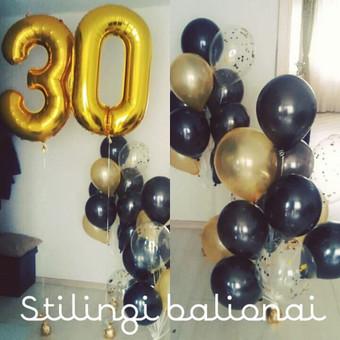 Pigiausi helio balionai Šiauliuose / Stilingi balionai / Darbų pavyzdys ID 546229