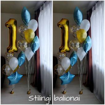 Pigiausi helio balionai Šiauliuose / Stilingi balionai / Darbų pavyzdys ID 546231