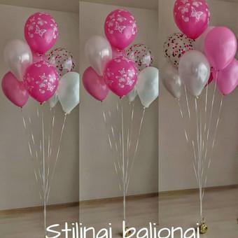 Pigiausi helio balionai Šiauliuose / Stilingi balionai / Darbų pavyzdys ID 546233