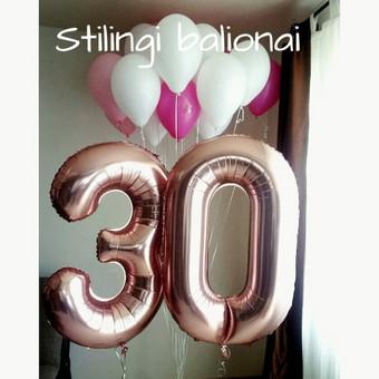 Pigiausi helio balionai Šiauliuose / Stilingi balionai / Darbų pavyzdys ID 546237